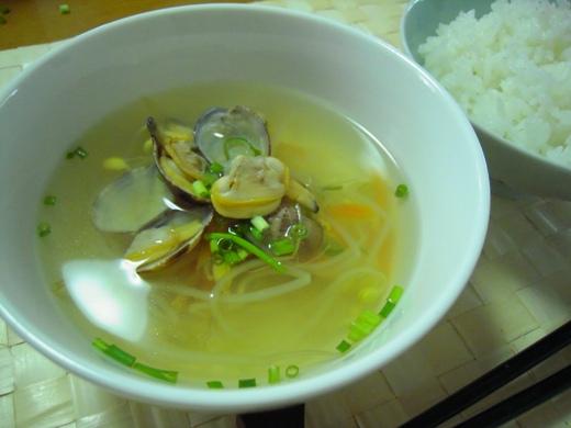 コンナムルスープ(豆もやしスープ)