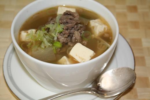 ソゴギムグッ(소고기국)のレシピ -- 牛肉と大根のスープの作り方